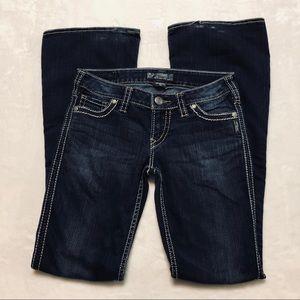 """Silver Jeans Frances 22"""" Jeans 27x35"""